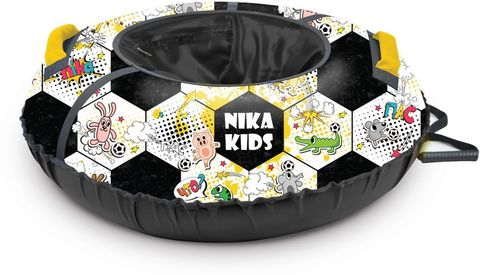 Тюбинг с круговым дизайном Ника ТБ3К 70/78 см Футбольный мяч