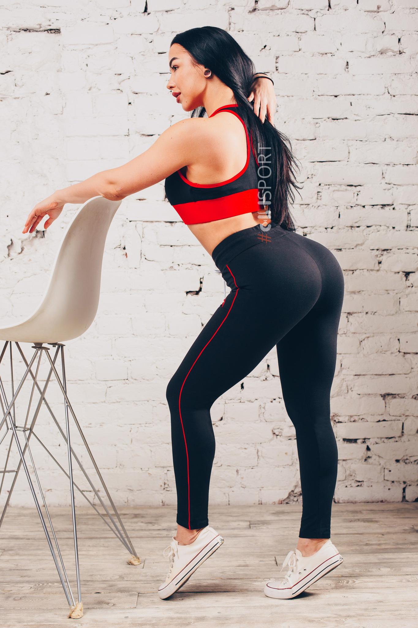 Женский топ Ryderwear BSX Sport Bra Black