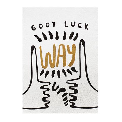 Открытка Good Luck Way