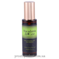 De Luxe Macadamia Oil Treatment - Масло Макадамии для волос и тела