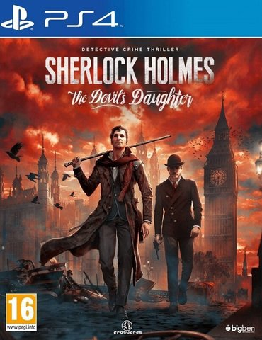 PS4 Sherlock Holmes: The Devil's Daughter (русские субтитры)