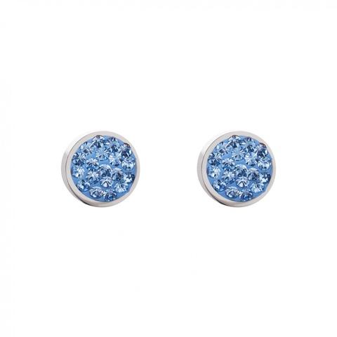 Серьги Coeur de Lion 0118/21-0720 цвет голубой, серебряный