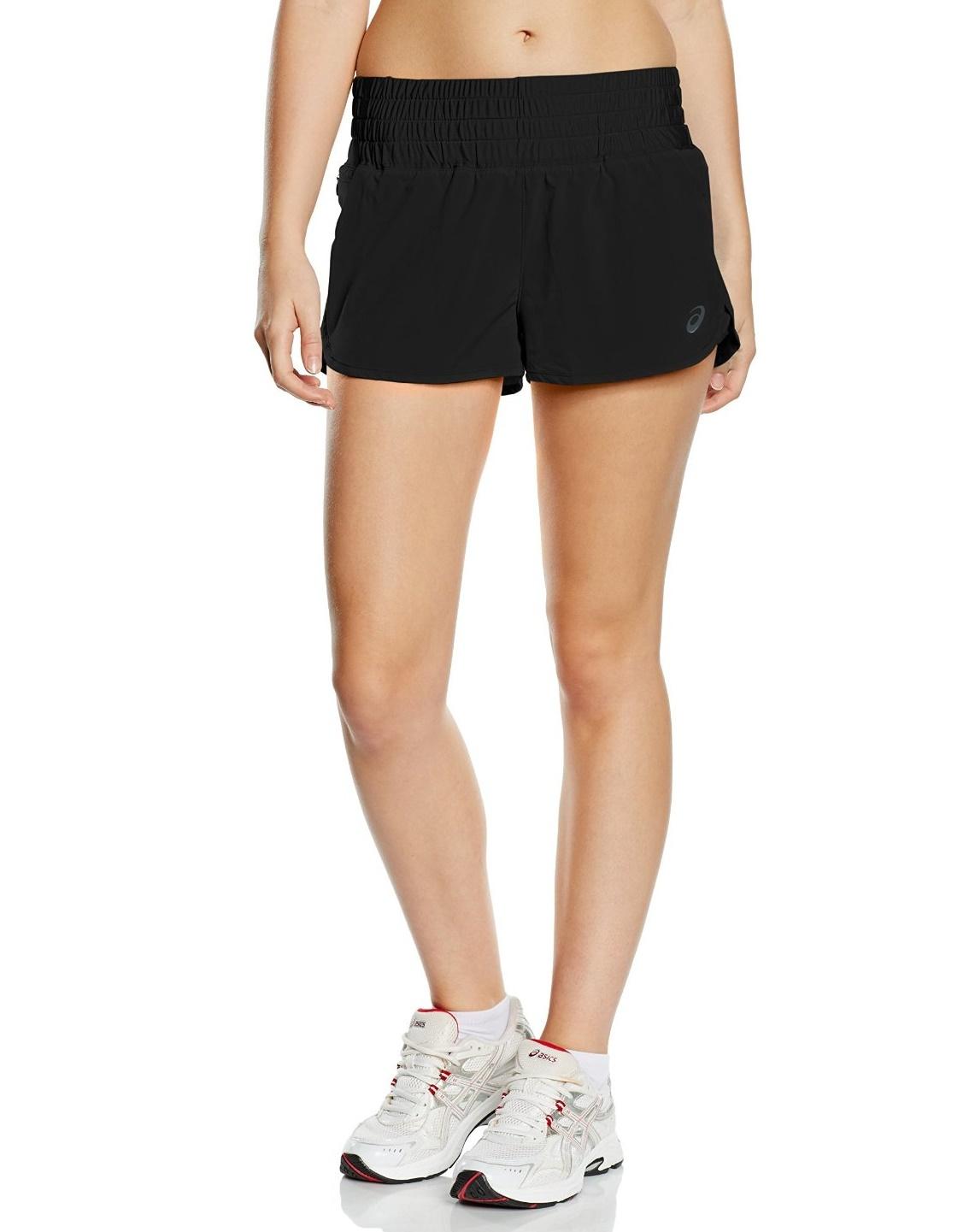 Женские спортивные шорты Asics Woven Short (124673 0904) фото