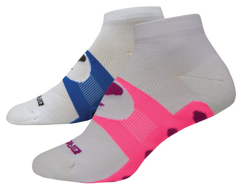 BROOKS ESSENTIAL LOW QUARTER комплект женских беговых носков