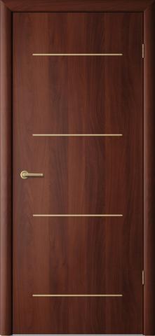 Дверь Сибирь Профиль Капелла, цвет итальянский орех, глухая