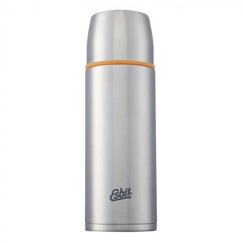 Термос Esbit ISO, новый дизайн, cтальной-оранжевый, 1 л