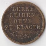 K5588, 1831-1888, Германия Пруссия, Памятный жетон Фридрих III