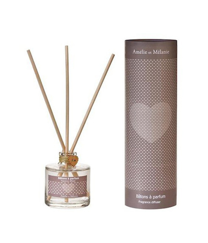 Диффузор-ароматизатор для дома с палочками Cердце Coeur La Maison, Amelie et Melanie