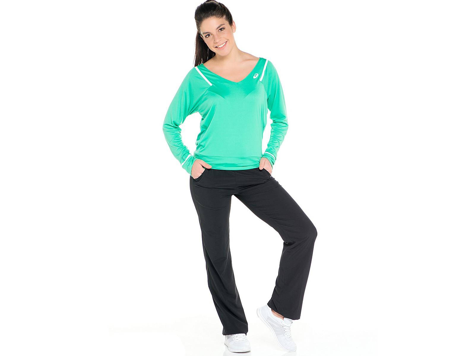 Женские брюки Asics Styled Woven Pant black (121810 0904) фото