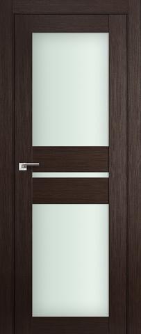 Дверь Profil Doors №70X-Модерн, стекло матовое, цвет венге мелинга, остекленная