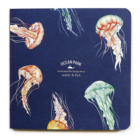 Блокнот Jellyfish navy