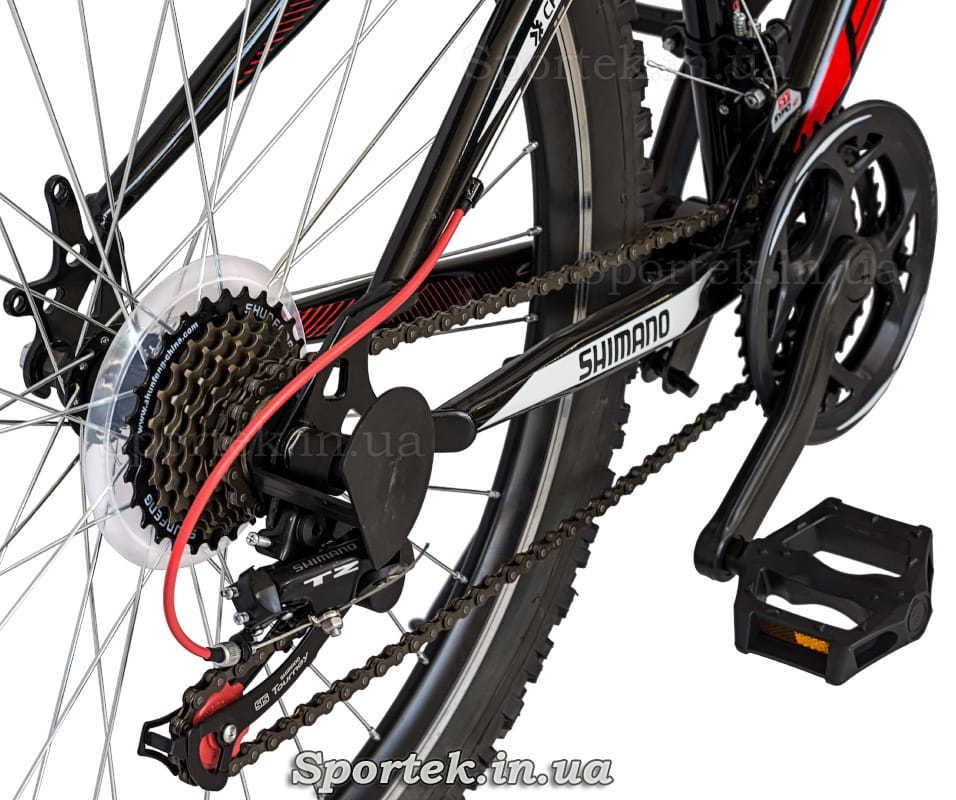 Трансмиссия городского велосипеда Formula Nevada