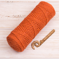 Шнур 3мм Оранжевый