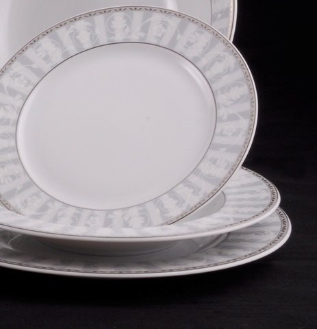 Набор тарелок глубоких 22.5 см 6 штук Сабина Leander