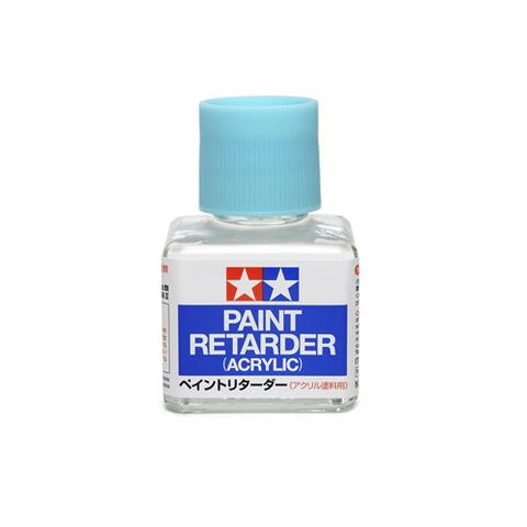 Tamiya Paint Retarder (Acrylic) Замедлитель высыхания (акрил), 40 мл