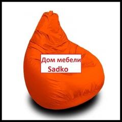 Кресло Мешок Оранжевый Темп II
