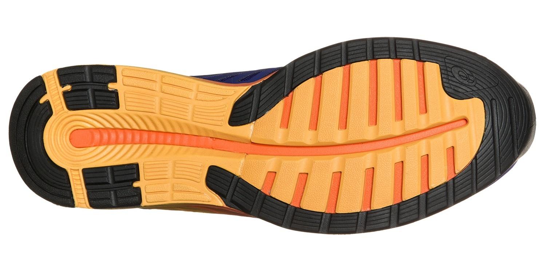Мужские кроссовки для бега Asics FuzeX (T639N 4350) синие фото