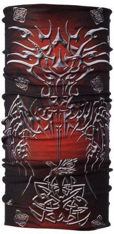 Многофункциональная бандана-труба Buff Metal Tribal