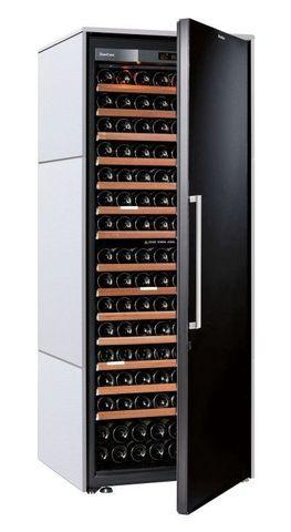Винный шкаф EuroCave S Collection L белый хлопок, сплошная дверь, максимальная комплектация