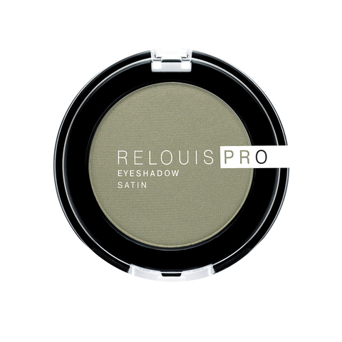 Relouis pro Тени для век Eyeshadow Satin тон 35 Green tea