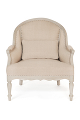 Кресло Secret De Maison Паулитта (PAULETTE) ( mod. CHA 15-12A ) — Натуральный Минди