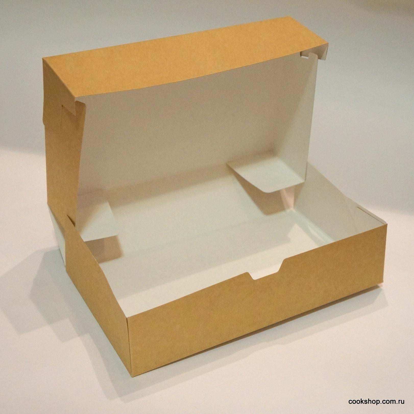 Коробка ECO для конфет купить в Хабаровске 23*14*6,5