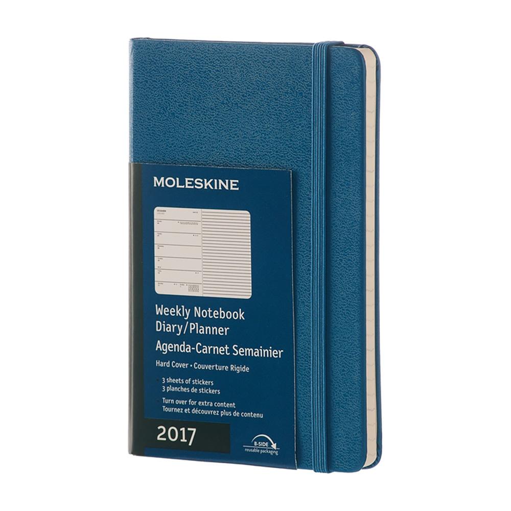 Еженедельник Moleskine Classic Wknt Pocket, цвет синий