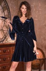 Халат женский бархатный  MIA-Amore  EVELINA Эвелина 8207