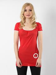 3387 блузка жен. красная