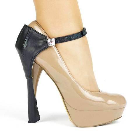 Автопятка супер защита для обуви c тонким каблуком