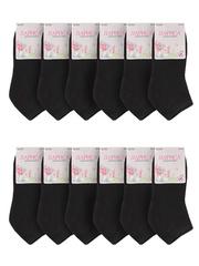 352 носки женские черные 36-42 (12шт)