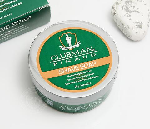 Натуральное мыло для бритья Clubman Shave Soap (60 гр)