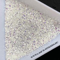 Диско дизайн, песок зеркальный (размер 0,4 мм)