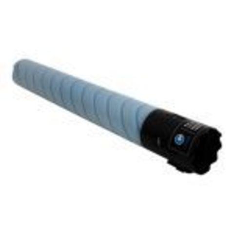 Совместимый тонер-картридж TN-221C для Konica Minolta bizhub C227/C287, голубой. Ресурс 21 000 стр. (A8K3450)