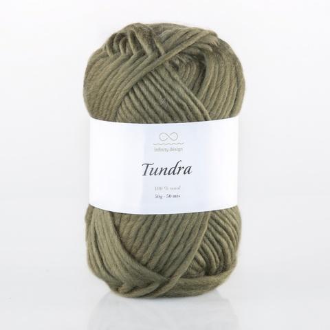 Пряжа Infinity Tundra 9354 хаки