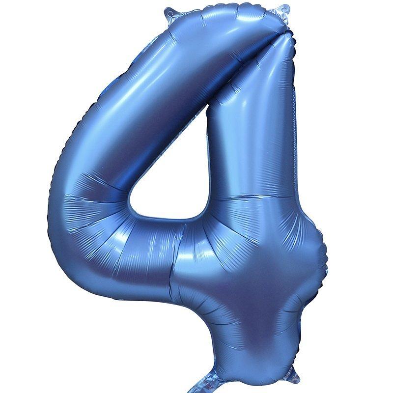 Шары цифры Шар цифра сатин 4 синяя satin_siniy_4.jpg
