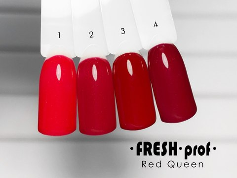 Гель лак Fresh Prof Red Queen 10мл R01