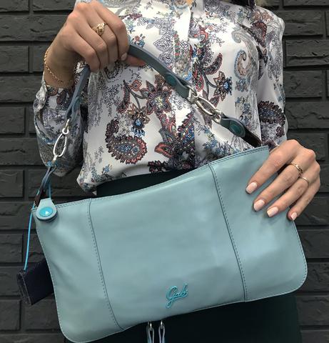 Кожаная сумка Gabs Elena Sky, Italy, фото 5