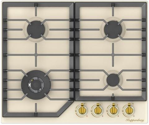 Газовая варочная панель Kuppersberg FS 603 C Bronze