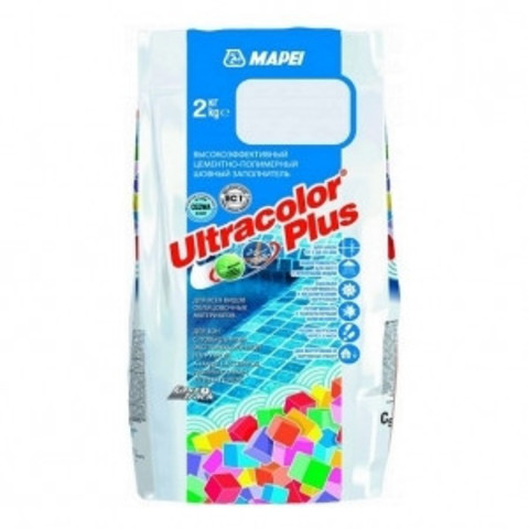Затирка Mapei Ultracolor Plus 132 бежевая 2кг