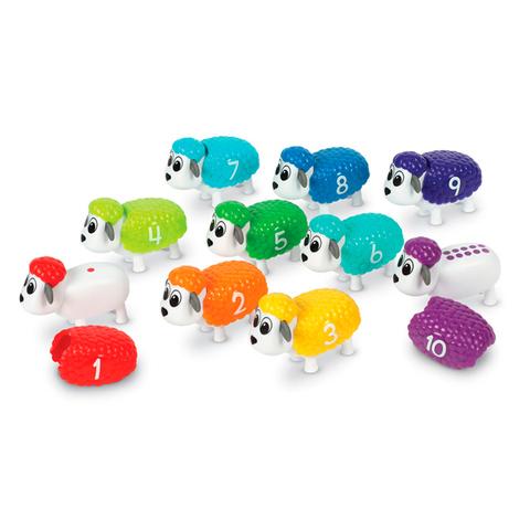 LER6712 Игровой набор Разноцветные овечки Learning Resources