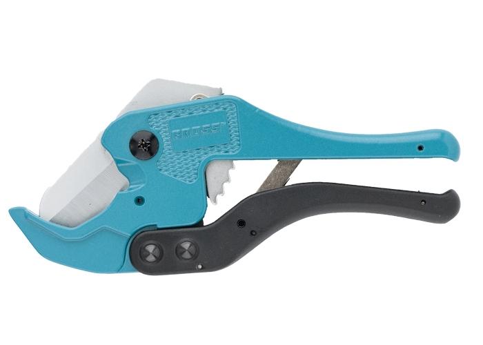 Ножницы для резки изделий из ПВХ, универсальные, D-42 мм, порошковое покрытие рукояток Gross 78424