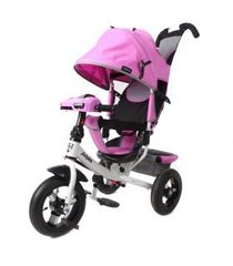 Велосипед Moby Kids Comfort 12x10 AIR Car 2 Лиловый (641089)
