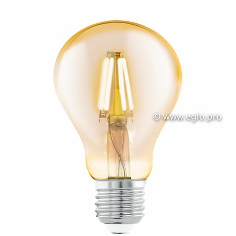 Лампа Eglo филаментная янтарь LM LED E27 (DECO ITEMS) A75 2200K 11555