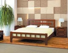 Кровать из массива Натали-5 (1400)