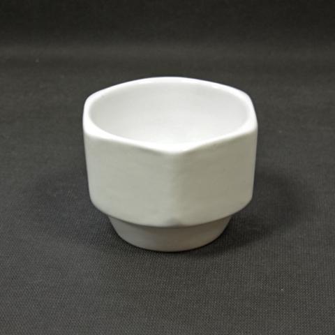 Чаша для бритья Squadro Hexum white