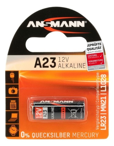Батарейка ANSMANN A23 (12V) Premium
