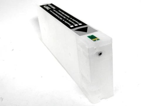 Перезаправляемый картридж для плоттеров Epson Stylus Pro 7700, 7710, 9700, 9710. 700 мл с пакетом. С чипом.