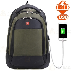 Рюкзак SWISSGEAR 2016 USB Зеленый