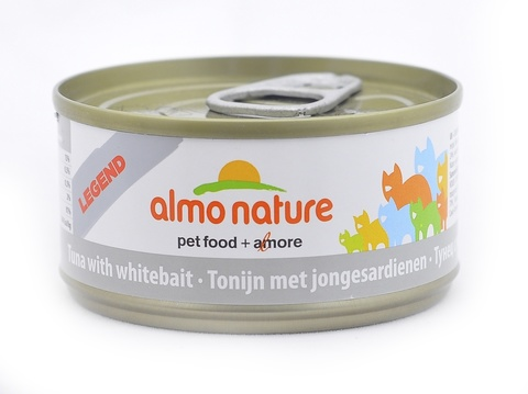 Консервы (банка) Almo Nature Legend Adult Cat Tuna&White Bait